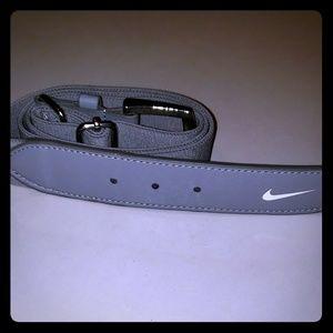 Nike grey belt